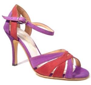 TDA Women's Tango Dance Shoe