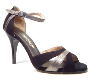 DKZSYIM Women's Tango Dance Shoe