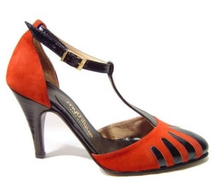 tango shoes scarlet