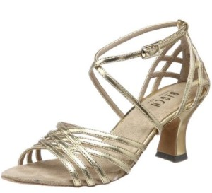Bloch Women's Yvette Leather Latin Dance Shoes