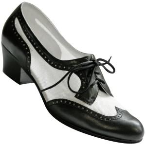 U-lite Women's Wingtip Oxford Swing Dance Shoes