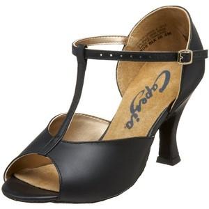 Capezio Women's T-Strap Latin Dance Shoes