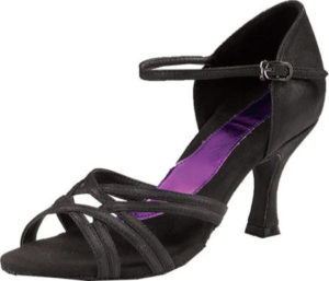 Capezio Women's Black Salsa Dance Shoe