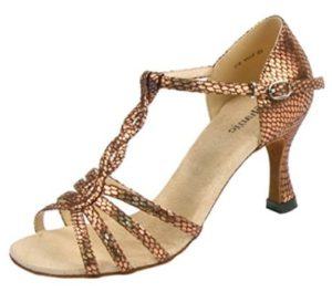 Stephanie T-Strap Latin Dance Shoes