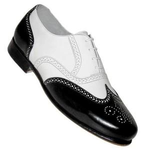 Ferro Aldo Men's Wingtip Oxford Swing Dance Shoes