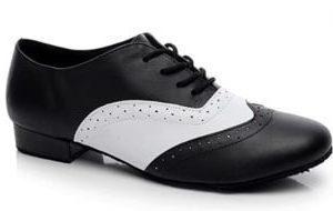 Minishion Tango Dance Shoe for Men