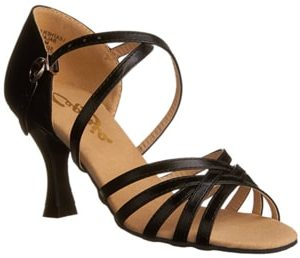 Capezio Women's Black Ballroom Shoe