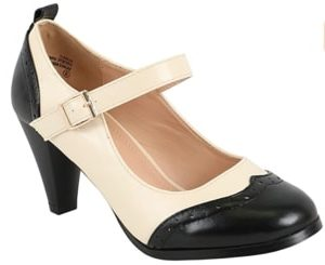 Chase & Chloe Women's Round Toe Swing Shoe